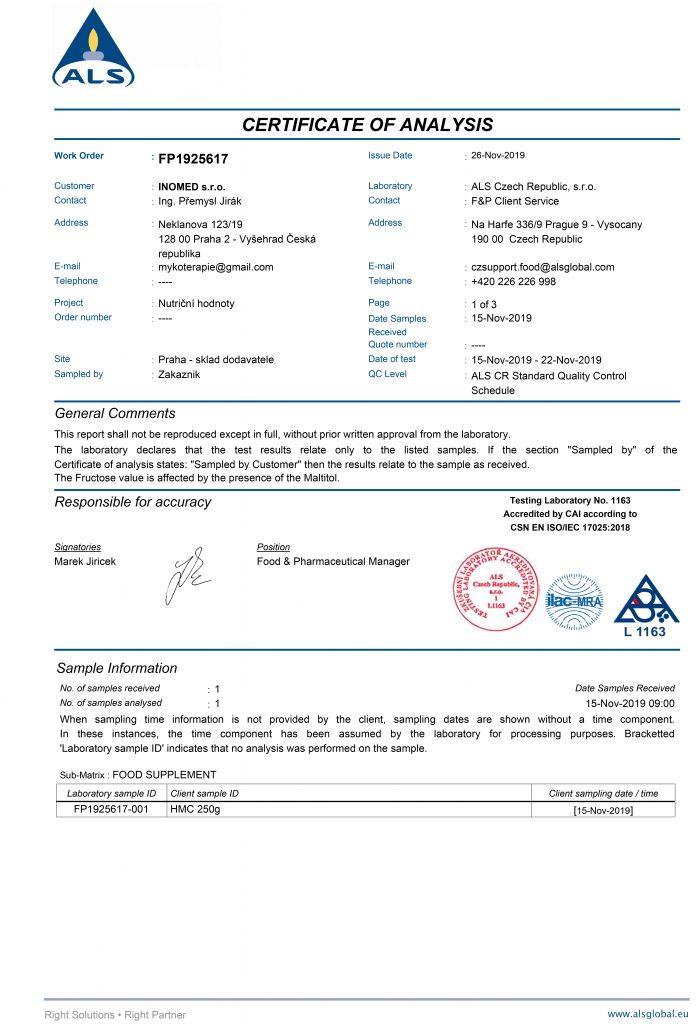 HMC - биосорбент для очищения организма от токсинов - 1