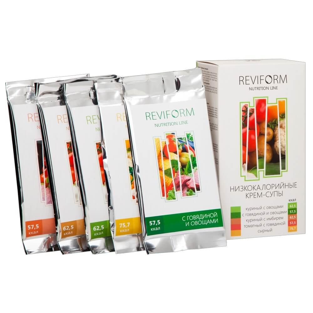 Низкокалорийные крем-супы с пептидами для снижения веса