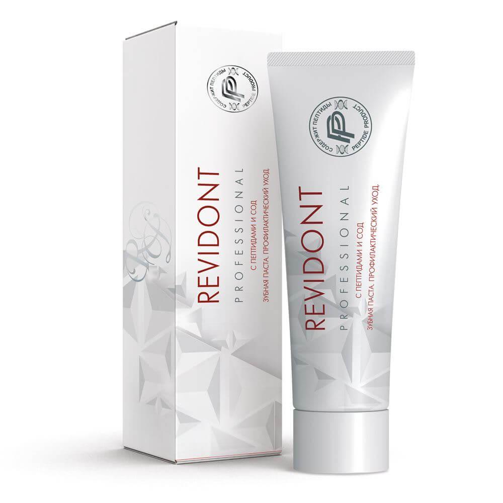 Зубная паста Revidont® с пептидами и СОД