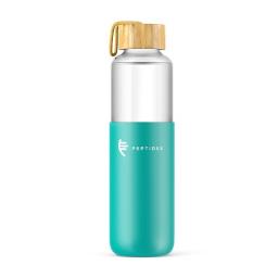 Стеклянная бутылка для воды Peptides